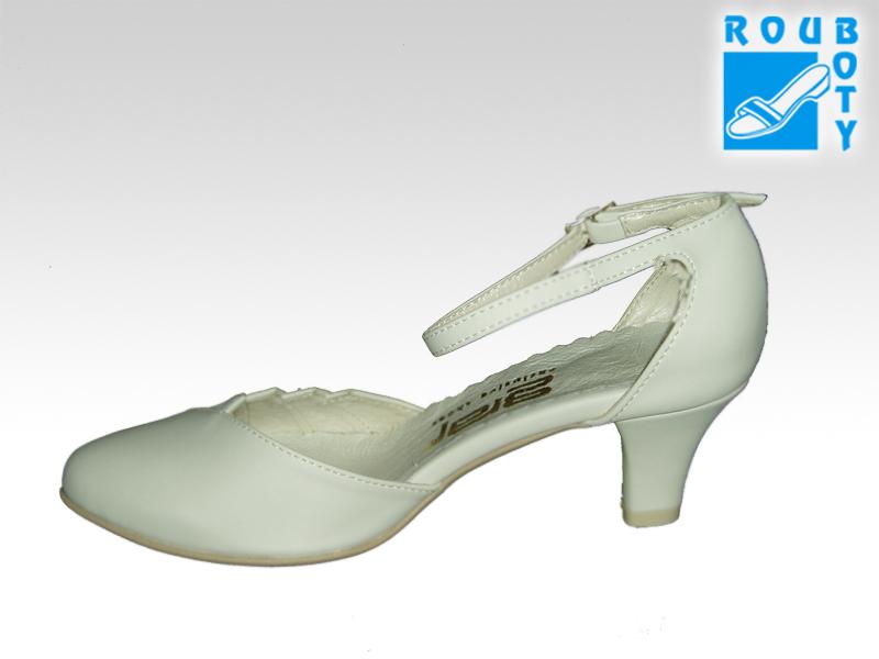 ... Svatební boty - GRAF 877 Satyna ecru - podměrná f8cc71680b
