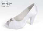 ... Svatební boty - GRAF 130 Satin white-podměrná 35f01cdacc