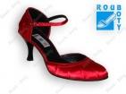 ... Společenská obuv- GRAF251 Satin red 14 S- podměrná 9c8056d526
