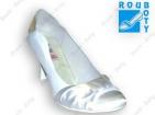 ... Svatební boty - GRAF 0150 Satyna white + Satin white-podměrné a03e38bdc7