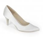 ... Svatební boty GRAF 1343 - Satén bílý - podměrné 5188d0395d