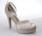 ... Svatební boty - GRAF 076 - bez květu Satin ivory -podměrná f881d8f041