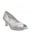 ... Svatební boty GRAF-1330-satin white-podměrná ee624dd6ec