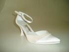 ... Svatební boty - GRAF- 961 Satin white   fala -podměrné 38a36aeb22
