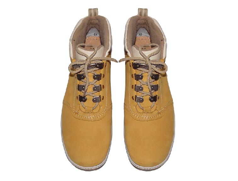 ... Nadměrné zimní boty PS-435 PU HIKERS YELLOW (47-50) 1dbb5e6819