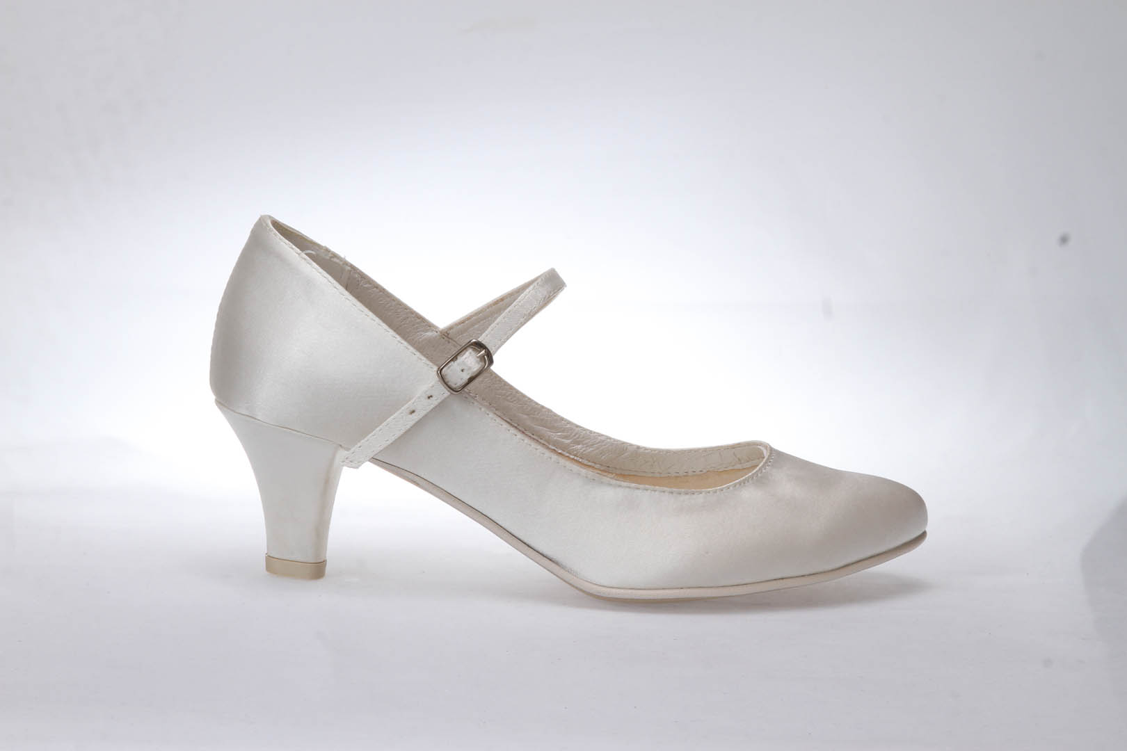 Svatební boty GRAF 1503 - Satén ivory f65b7522f0