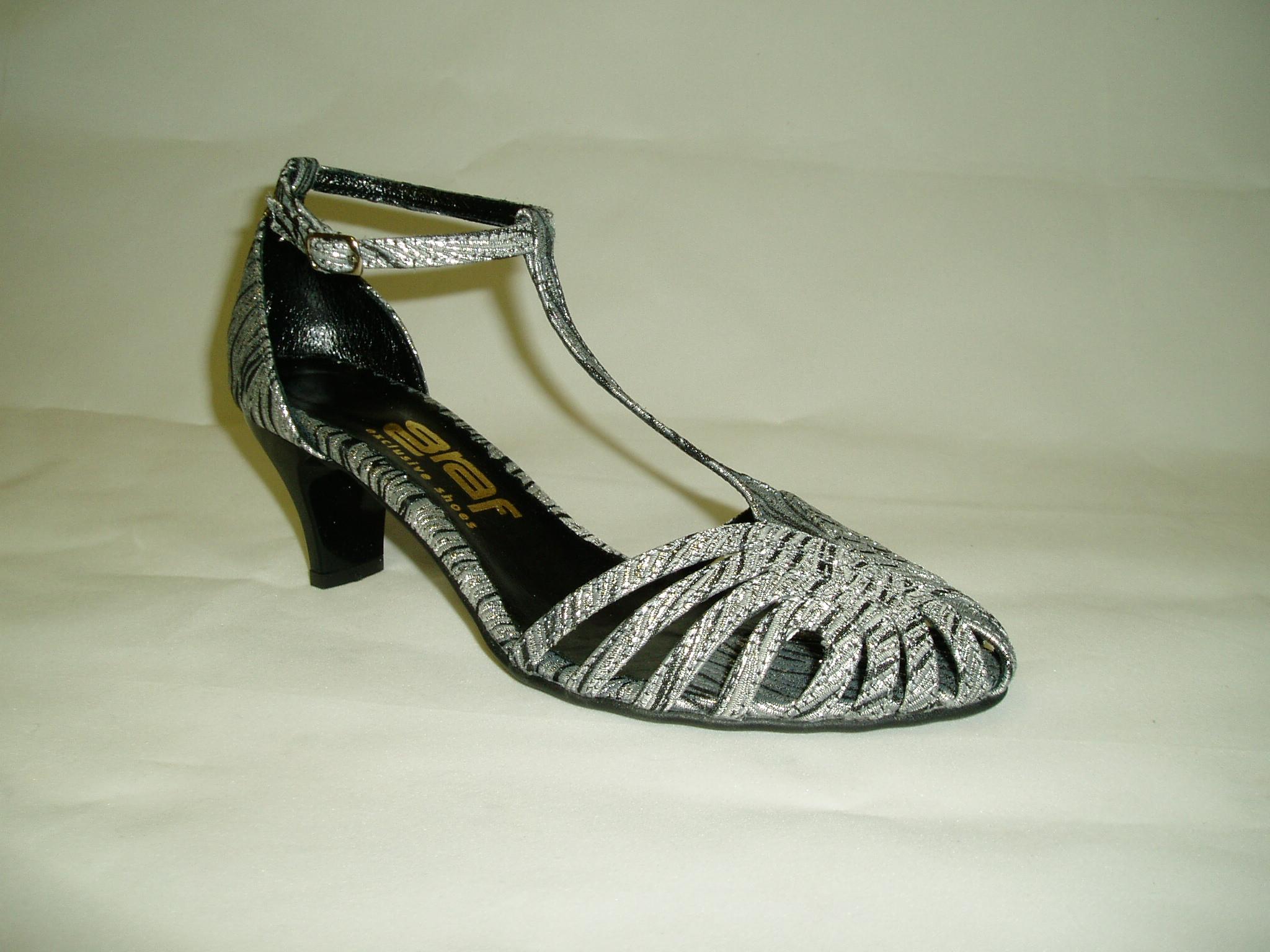 Společenské boty GRAF 363 871 - livie black silbern-podměrná ef719511a0