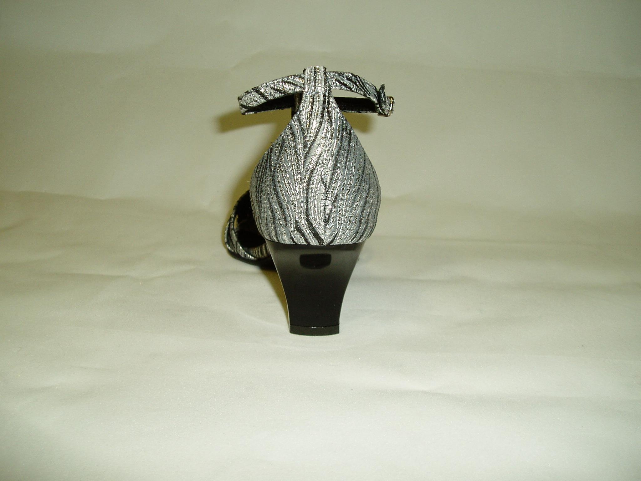 ... Společenské boty GRAF 363 871 - livie black silbern-podměrná 4f5f63e432
