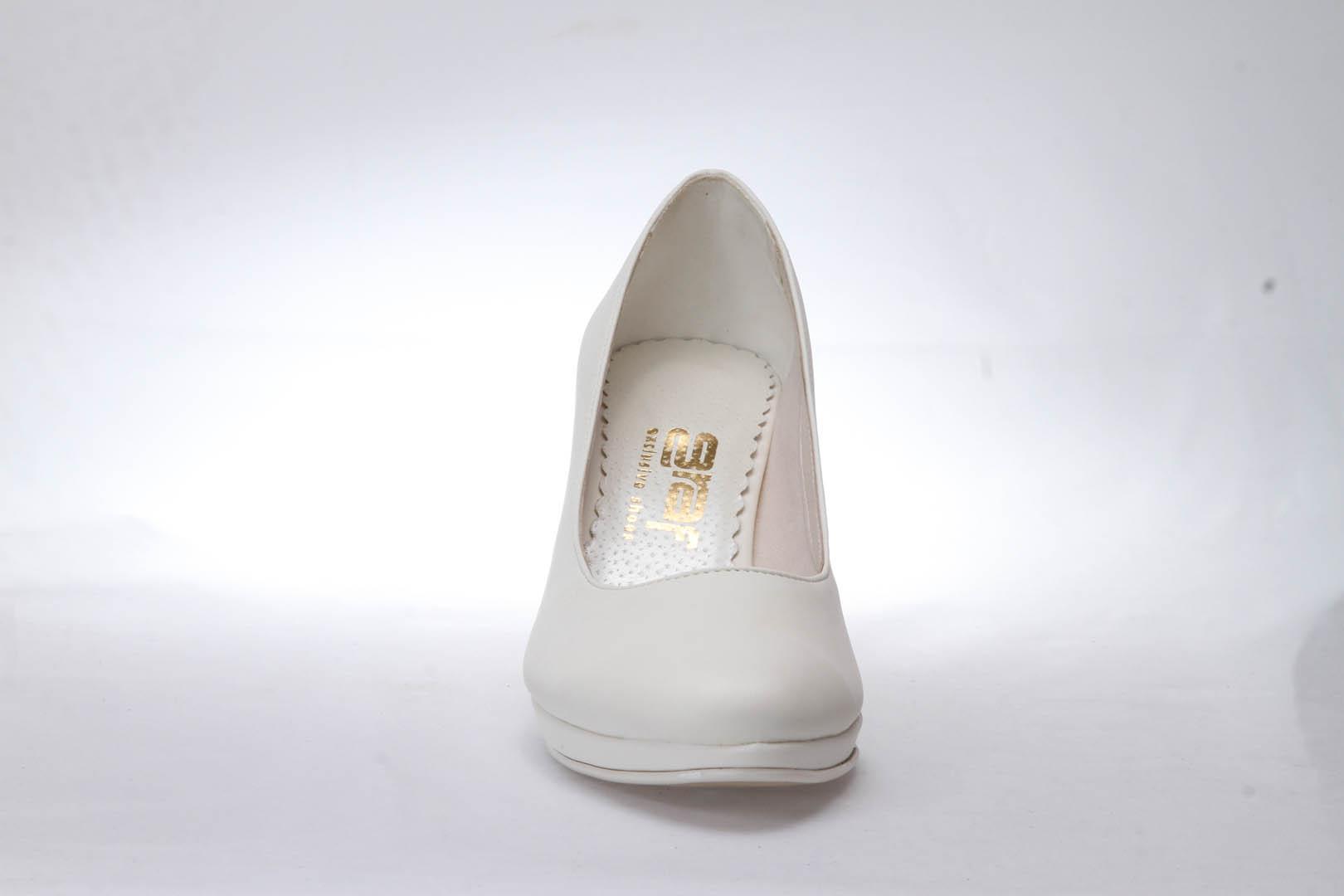 Svatební boty GRAF 1308 - Satyna ivory 8c83176754