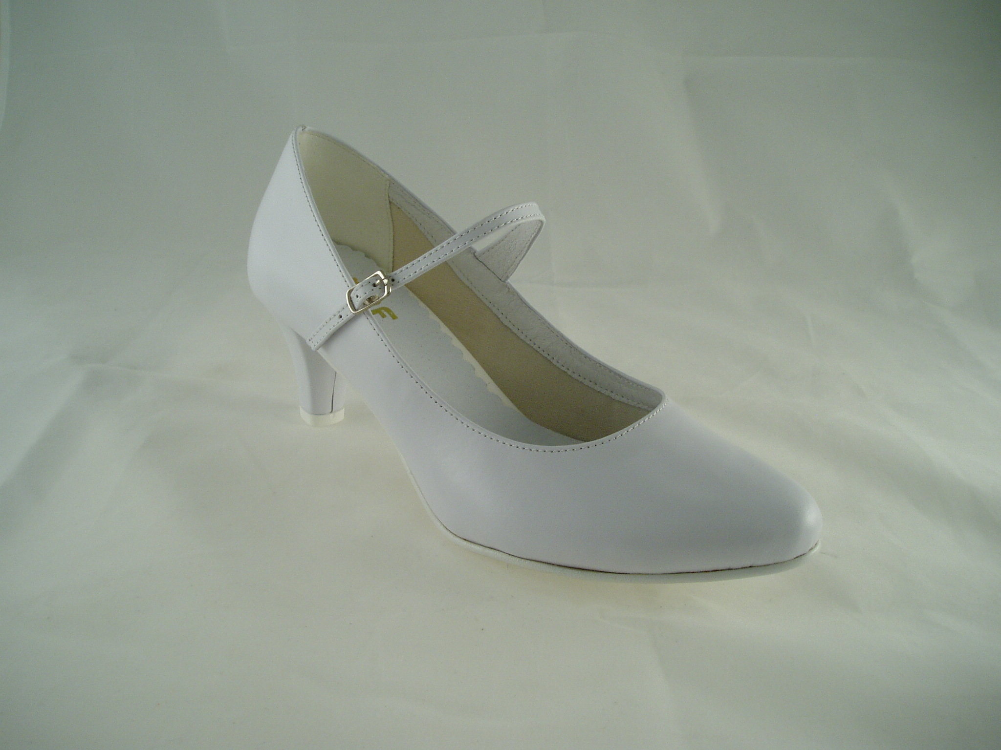 ad57557aff3 Svatební boty GRAF 1503 - Kůže bílá - podměrné