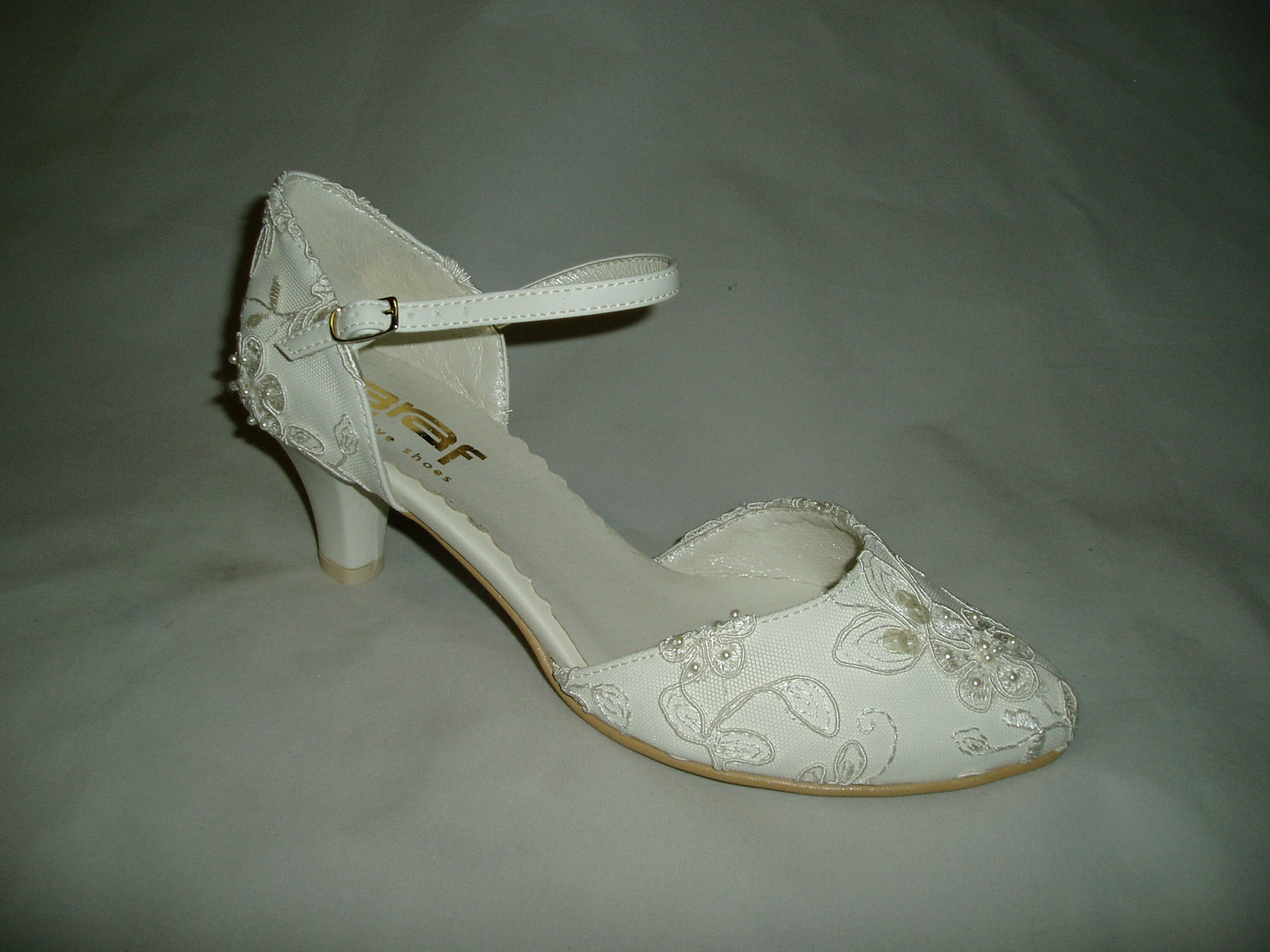 6eaaa42bfcb Svatební boty GRAF-880 PRIMA ECRU-podměrná