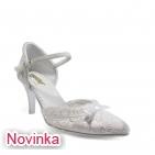 ... Svatební boty - GRAF 959 White-podměrná 9b1b4d9a37